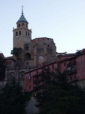 La cattedrale di Albarracín.