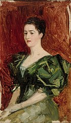 Portrait of Mrs. Dagmar Dippell, compositional sketch
