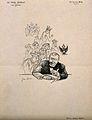 Albert Edouard Charles Robin. Lithograph by J. Veber. Wellcome V0005046.jpg