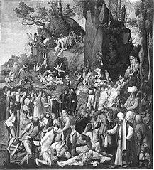 Marter der Zehntausend (Kopie nach dem Original von 1508 in Wien) (Kopie nach)