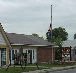 Alburgh (village), Vermont - Image: Alburgh VT Village Offices