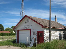The old Fire Station in Alder, photo 2007