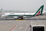 Alitalia Cityliner, EI-RDL, Embraer ERJ-175STD (25978098783).jpg