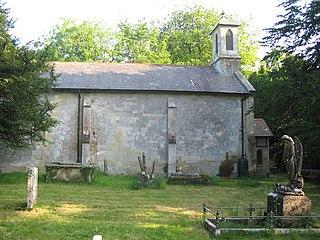 Chicklade village in United Kingdom