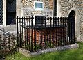 All Saints Church John Locke churchyard tomb at High Laver Essex England.jpg