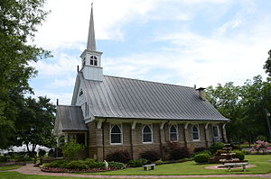 National Register of Historic Places listings in Pulaski County, Arkansas - Image: All Souls Church, Scott, AR