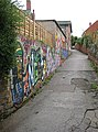 Alley leading up to Cantilupe Road - geograph.org.uk - 955540.jpg
