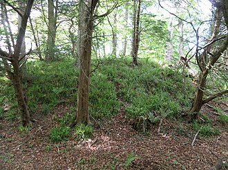 Alloway Mote - Image: Alloway Motte and Court Hill, Doonholm, Ayr, South Ayrshire, Scotland