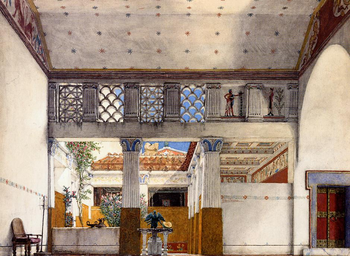 Casa romana wikipedia - Pitture da interno ...