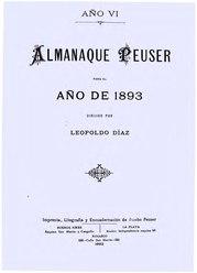 Leopoldo Díaz: Almanaque Peuser para el año 1893