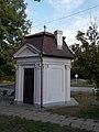 Alsópark's pavilion. Listed ID -12260. N. - Ady Promenade, Gödöllő.JPG