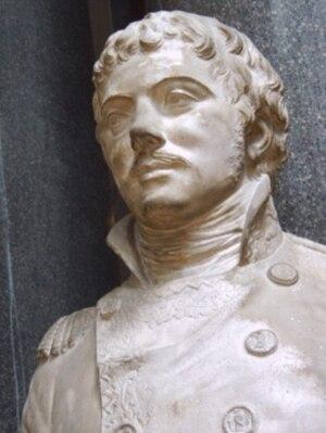 Amédée Emmanuel François Laharpe - Laharpe, bust by Félix Lecomte, Gallery of Battles, Palace of Versailles