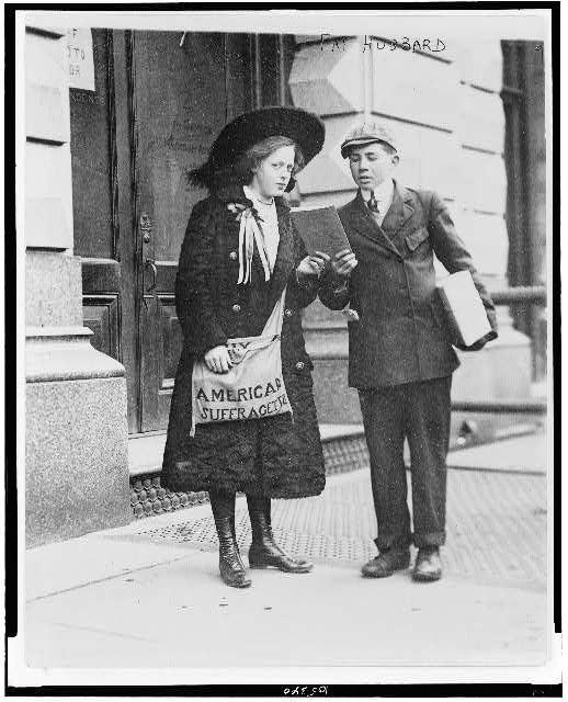 American suffragette