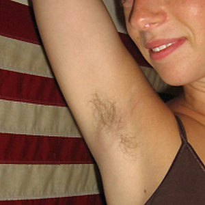 Armpit fetishism - Some of those who are attracted to the female armpit prefer for it to be unshaven