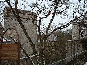 Amlishagen Castle - Wall of Amlishagen Castle