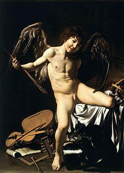Amor Vincit Omnia-Caravaggio (c.1602).jpg