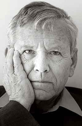 Amos Oz in Brussel, september 2005