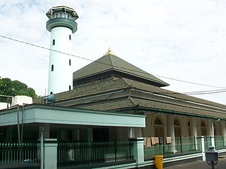 East Java - Ampel Mosque in Surabaya is the oldest surviving mosque in Java, and second oldest in Indonesia. It was built in 1421.