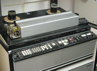 Quadruplex videotape - Ampex AVR-2
