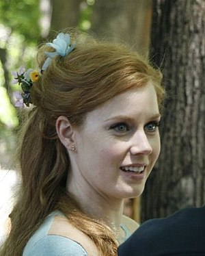 Amy Adams - Adams on the set of Enchanted in 2006
