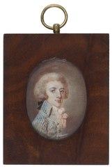 Anders Mauritz Unfraun (1767-1829), bursar, c. 1786-89