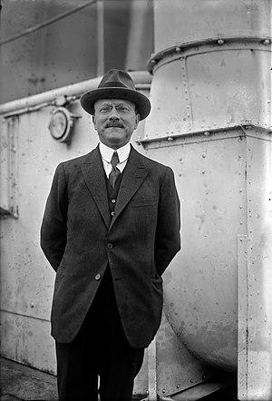 André Citroën - André Citroën on an ocean voyage