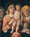 Andrea Mantegna - The Madonna and Child with Saints Joseph, Elizabeth, and John the Baptist - Google Art Project.jpg