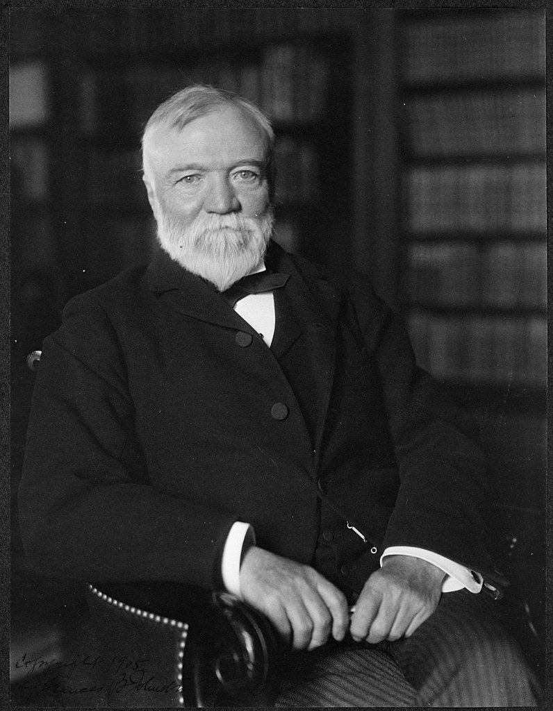 Andrew Carnegie, April 1905