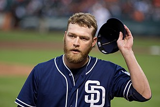 Andrew Cashner - Cashner with the San Diego Padres in 2013