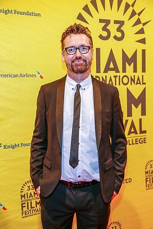 Andrew Currie (director) - Director Andrew Currie at the Miami Film Festival presentation of The Steps in 2016
