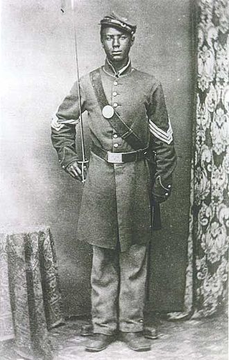 Andrew Jackson Smith (Medal of Honor) - Color Sergeant Andrew Smith