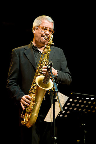 2012 in jazz - Andy Sheppard  at the Moers Festival 2012.