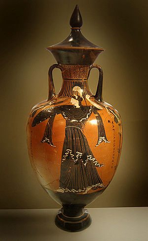 Greek amphora, National Archaeological Museum ...