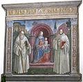 Angelo di lorentino, Madonna con Bambino tra i santi Benedetto e Bernardo, 1512.JPG