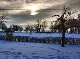 Anglesqueville in winter