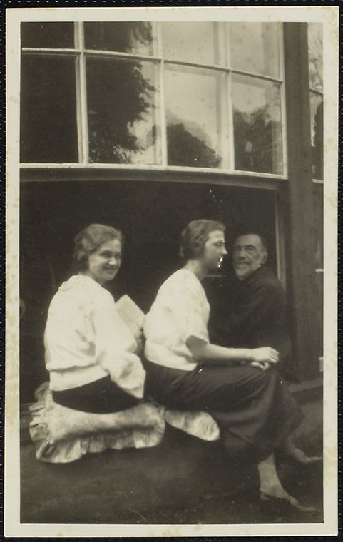 Aniela Zagórska, Karola Zagórska and Joseph Conrad