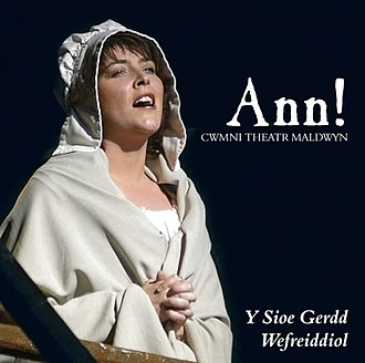 Ann Griffiths - Album cover of the musical Ann!