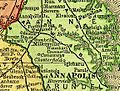 Annapolis and Elk Ridge Railroad on 1895 map.jpg