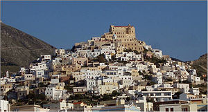 Ano Syros - General view of Ano Syros