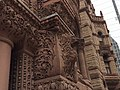 Another view of the intricate stone carvings on Toronto's Old City Hall, showing the true red sand stone colour.jpg