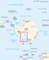Antarctica - Location of the Ross Sea.png