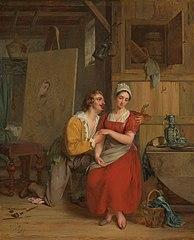Anthony van Dyck épris de son modèle