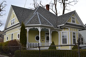 National Register of Historic Places listings in Union County, Oregon - Image: Anthony Buckley House (La Grande, Oregon)