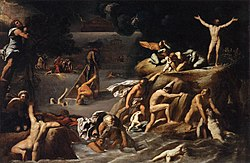Antonio Marziale Carracci: The Flood