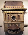 Antonio da sangallo (attr.), modello 140 per ballatoio, 1507.JPG