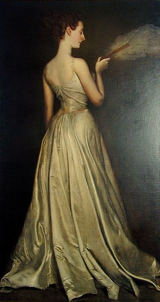 Virginie Amélie Avegno Gautreau - Antonio de La Gandara, Madame Pierre Gautreau, 1898