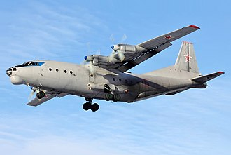 Antonov An-12 - An-12 of Russian Air Force