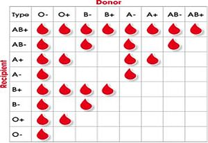 It's about Blood Groups