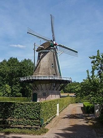 Appel, Netherlands - Windmill: korenmolen de Hoop