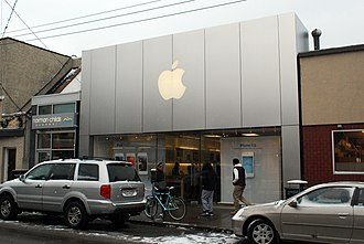 Walnut Street (Pittsburgh) - Image: Apple Store Shadyside Pittsburgh